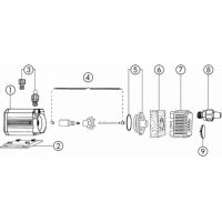 Pompa universale EHEIM Universal 1048 600 L/h