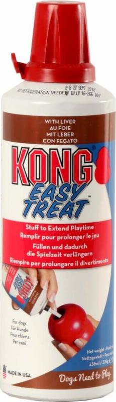 KONG Stuff'n Easy Treat Liver - Pasta para juguetes KONG para perro