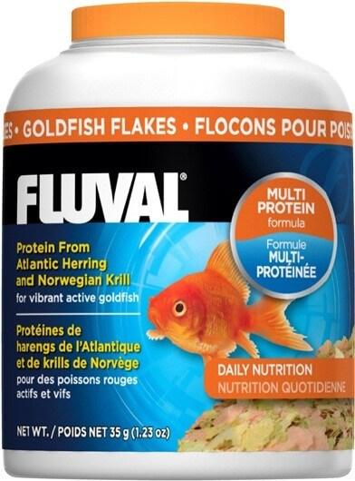 Fluval flocon poissons d 39 eaux froides 200ml nourriture for Flocon poisson