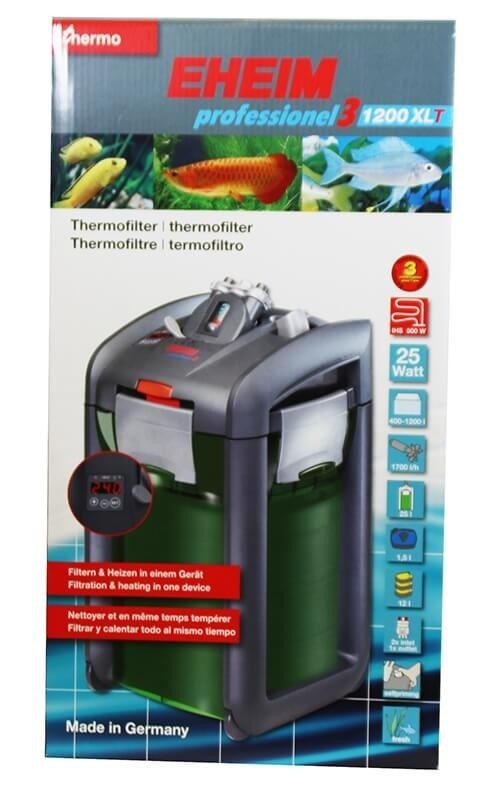 EHEIM 1200XLT Professionel 3 filtre extérieur avec chauffage