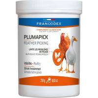 FRANCODEX PLUMA-PICK 250 gr - Alimento mineral aves de corral y palmípedos