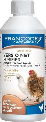 VERS O NET - Aliment minéral liquide pour volailles, palmipèdes et gibiers
