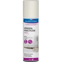 Francodex Aerosol insecticide - Elimine insectes et acariens de l'habitat