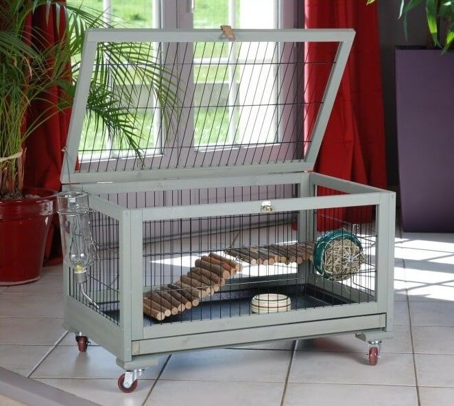 Cage inland lapin toy cochon d 39 inde furet 80cm cage - Fabriquer cage cochon d inde ...