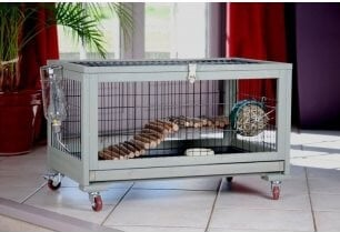 Cage INLAND lapin toy - cochon d'inde - furet 80cm