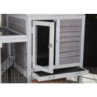 Clapier d'intérieur RESTLAND - cage à lapin (2)