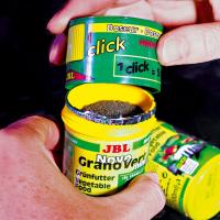 JBL NovoGranoVert Mini Granulés pour petits poissons d'aquarium herbivores
