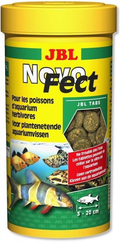 JBL NovoFect Nourriture en tablettes pour poissons herbivores