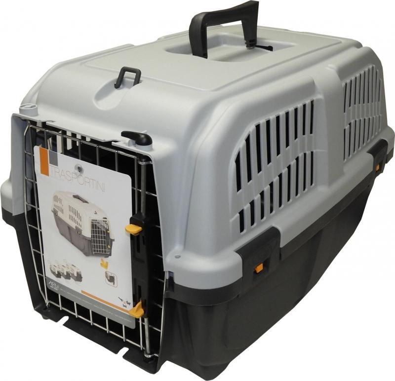 Caisse de transport SKUDO IATA pour chat et chien - Conforme aux normes IATA