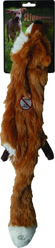 Peluche para perro zorro plano - 2 tallas (38 y 61cm)