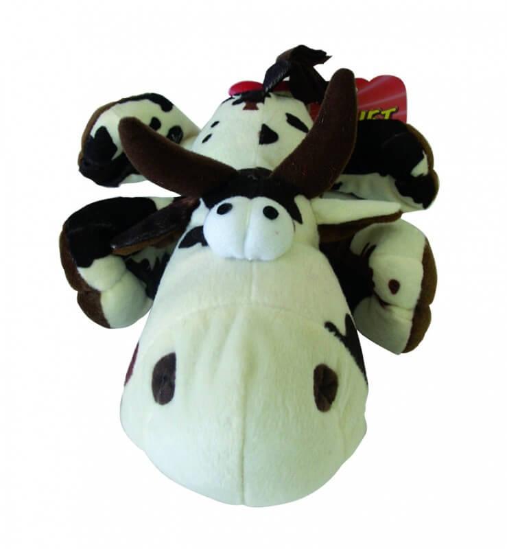 peluche vache renifleuse jouet pour chien. Black Bedroom Furniture Sets. Home Design Ideas