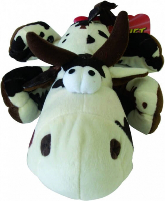 Peluche vache renifleuse