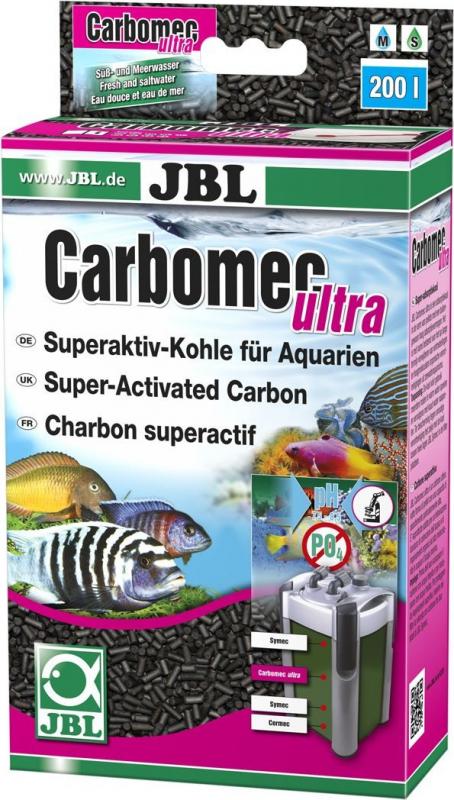JBL Carbomec Ultra charbon super actif pour aquarium