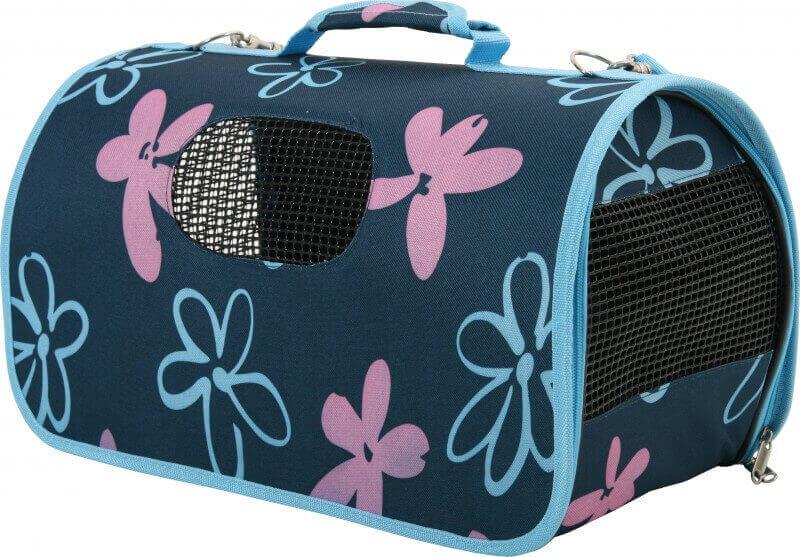 panier de transport flower bleu - sac de transport