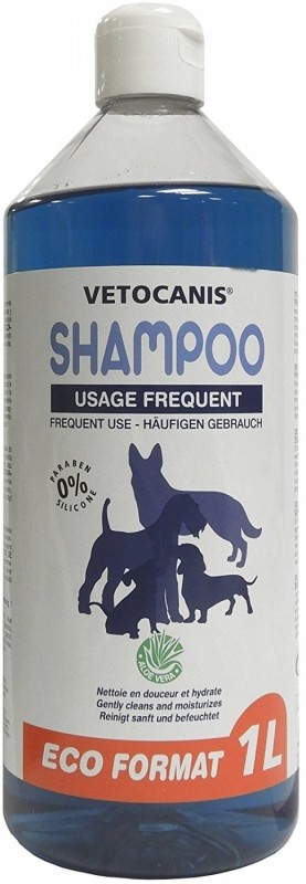 Shampoing usage fréquent Vetocanis ECO chien