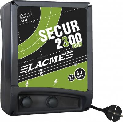 SECUR 2300 - HTE - Elettrificatore per animali difficile - superficie media