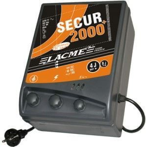 Secur 2000 - électrificateur sur secteur