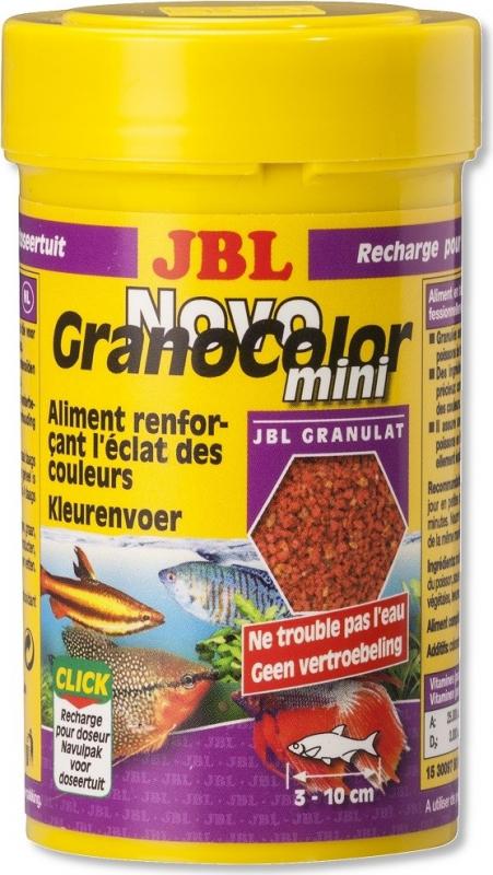 JBL NovoGranoColor Mini Granulés pour petits poissons