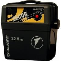 Op batterij