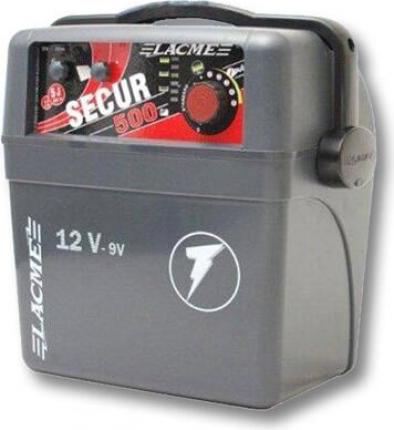 Electrificador potente y autónomo SECUR - 2 tipos