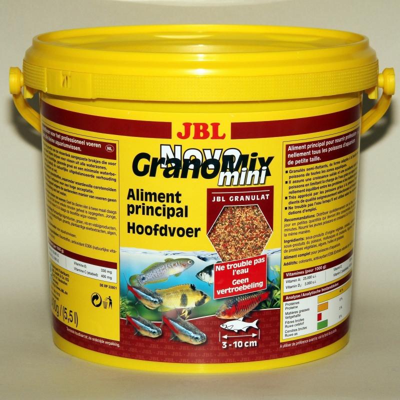 JBL NovoGranoMix Mini Granulés pour petits poissons