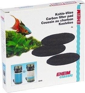 Mousses filtrantes x3 au charbon actif pour filtre Eheim Classic 2215