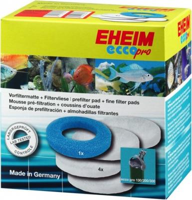Mousse filtrante pour filtre aquarium Eheim Ecco pro 2032, 2034, 2036 1 bleu + 4 blanches