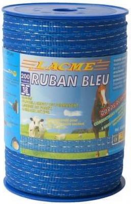 Ruban classique bleu 12mm