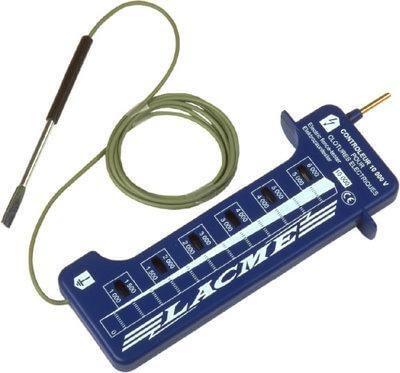 Contr leur 10kv testeur de tension accessoires de cl ture for Controleur de tension electrique