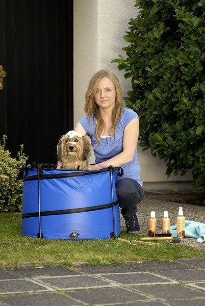 quick wash reinigen putzen und waschen sie ihren hund zubeh r pflege. Black Bedroom Furniture Sets. Home Design Ideas