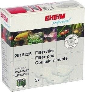 Coussins d'ouate x3 pour filtre Eheim 2222, 2224, 2322, 2324