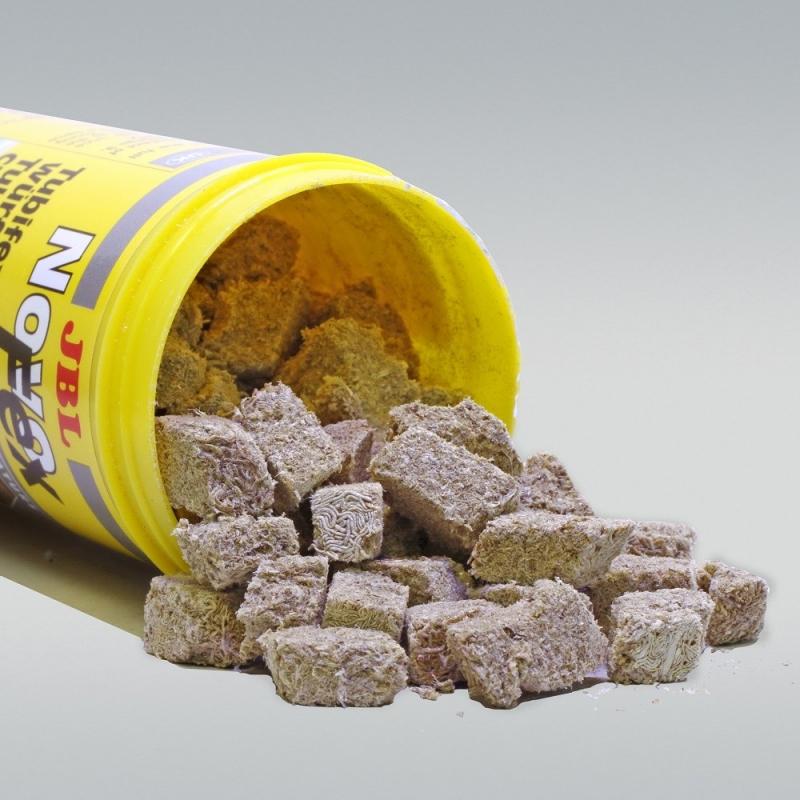 Comida para peces - terrones de Tubifex liofilizados NovoFex 100 ml