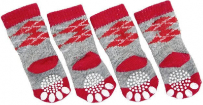 Doggy Socks 4 uds. - calcetines antideslizantes para perros