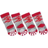 Chaussettes antidérapantes pour chien par 4 Doggy Socks