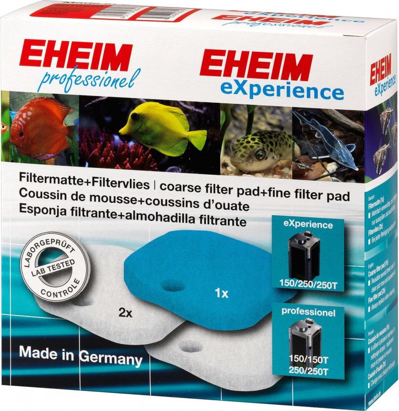 1 Coussin de mousse + 2 coussins d'ouate pour filtre 2222/2224 (eXperience 150/250/250T et Professionel 150/150T/250/250T)