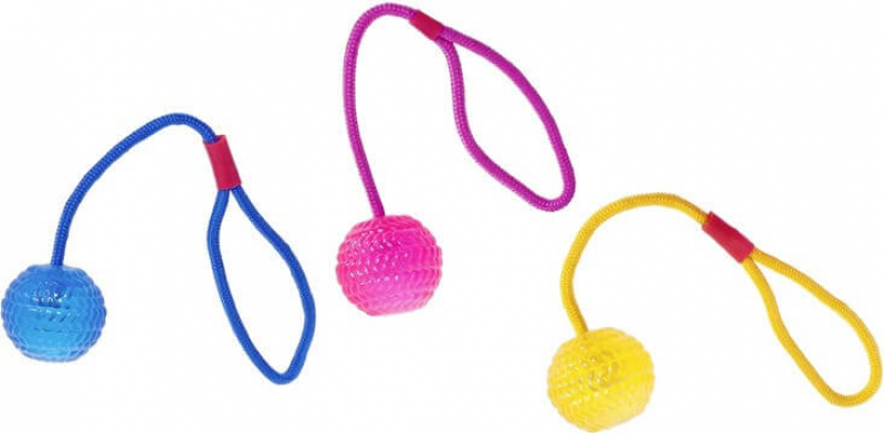 Balle avec corde Good4fun