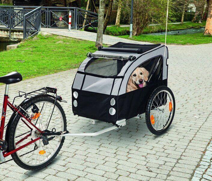 remorque de v lo doggy liner 1 et accessoire pour. Black Bedroom Furniture Sets. Home Design Ideas