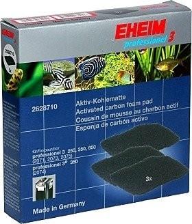 Coussins au charbon actif pour filtre Eheim 2071, 2073, 2074, 2075