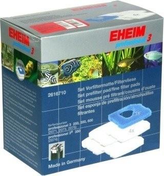 Lot d'une mousse bleu + 4 ouates pour filtre Eheim 2071 au 2173