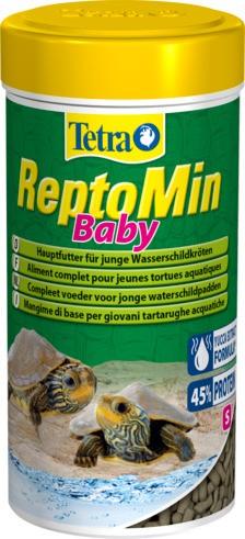 Tetra ReptoMin Baby Aliment pour jeunes tortues aquatiques.