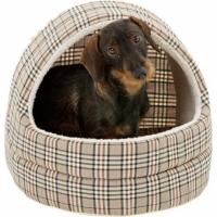 Caseta  con motivos English style - para perros