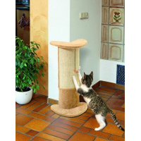 Basic Line Santo Cat Scratching Post with Toy