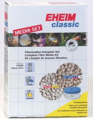 Kit complet de masses filtrantes pour filtre Eheim 2215