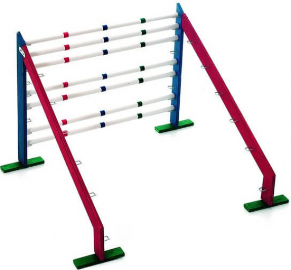 Bunny Sports Hopp 2 - Wooden obstacle