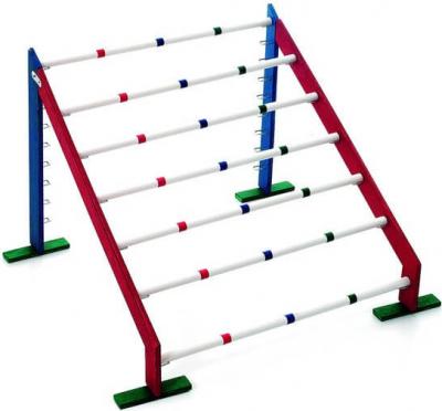 Bunny Sport's Hopp 2 - obstacles en bois