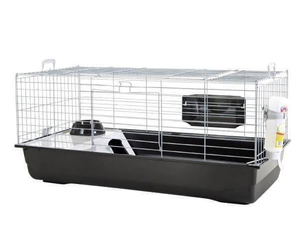 cage nero 2 de luxe pour rongeur cage cochon d 39 inde. Black Bedroom Furniture Sets. Home Design Ideas