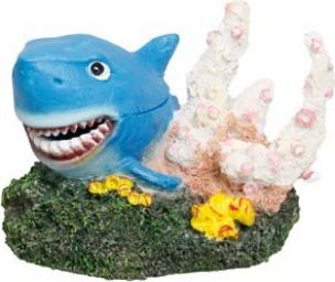 D coration requin sur roche avec diffuseur d 39 air d cor for Requin decoration
