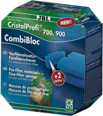 Kit mousses de filtration CombiBloc pour filtres CristalProfi e700 et e900