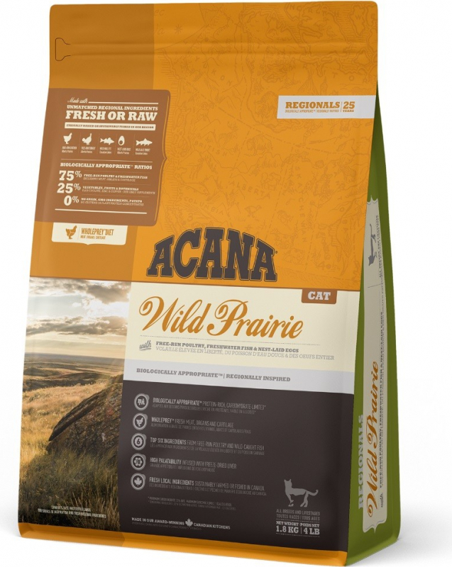 ACANA REGIONAL Wild Prairie pour chat