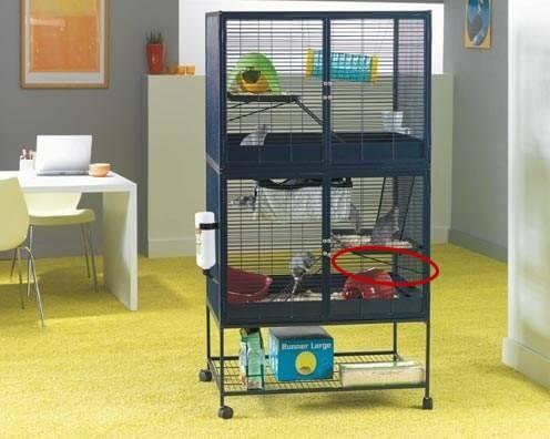 support pour plateforme pour cage suite royale pi ces de. Black Bedroom Furniture Sets. Home Design Ideas